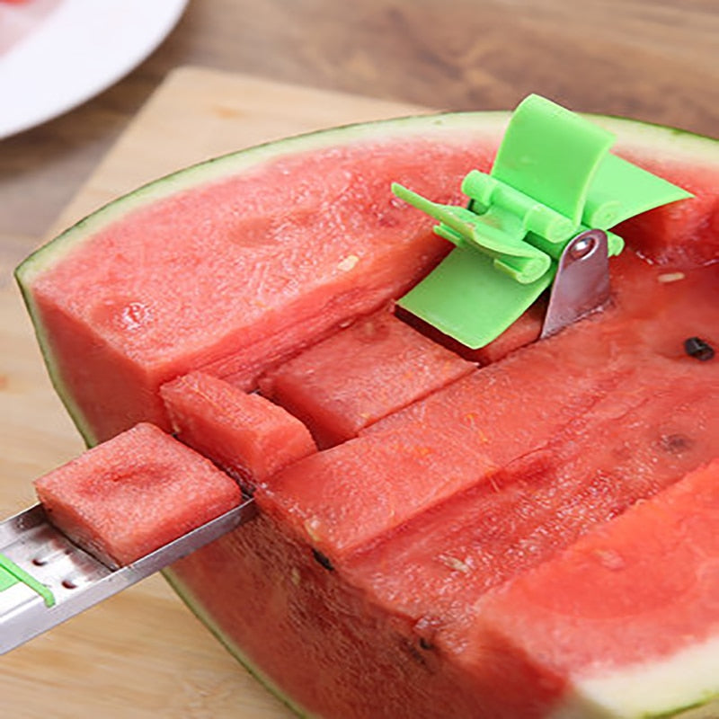 Watermelon Cutter Windmill Shape Plastic Slicer for Cutting Watermelon Power Save Cutter