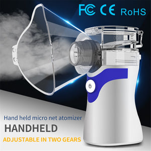 Handheld Mini Sprayer Portable Travel Home Daily Use Humidifiers Silent Nebulizer for Home Car Respirator Humidifier
