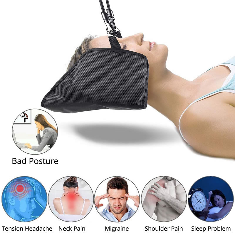 Portable Cervical Traction Pain Relief Neck Hammock