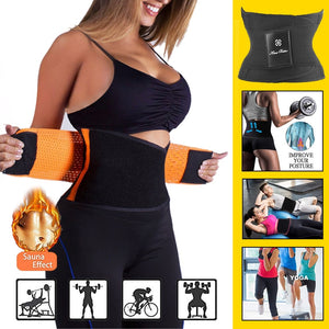 Kiwi Beta Women's Waist Trainer Belt - Body Shaper Belt