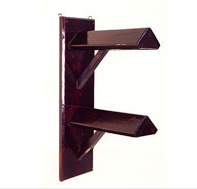 Wood Saddle Rack