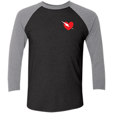 Load image into Gallery viewer, NL6051 Next Level Tri-Blend 3/4 Sleeve Baseball Raglan T-Shirt
