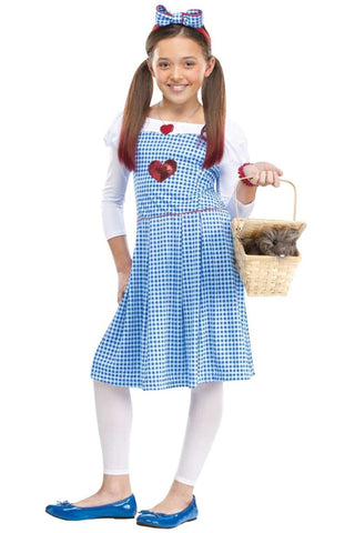 Dorthy from Wizard of Oz Halloween Costume