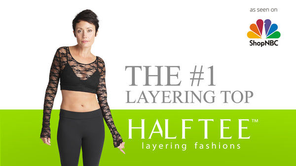 HALFTEE is the #1 popular layering shirt for women with plus sizes