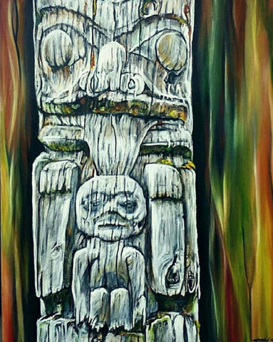 Totem Series Art By Karen Robb