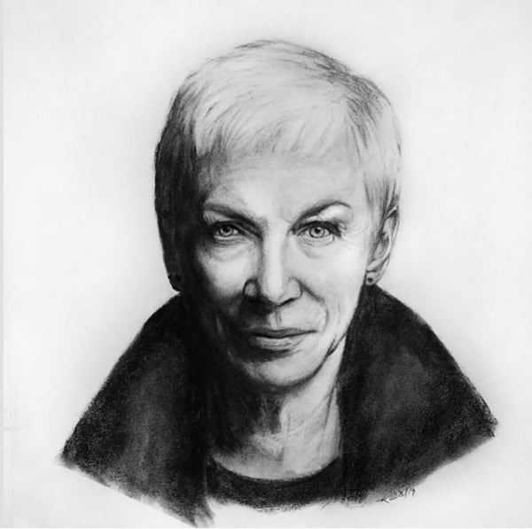 Karen Robb candian visual artist based in winnipeg manitoba offers custom charcoal drawings which you can gift to others