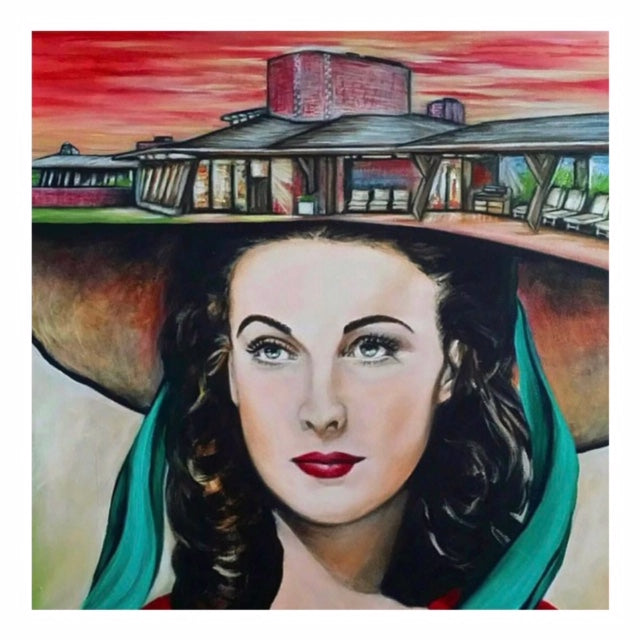 Artist Karen Robb created beautiful art of Vivien Leigh  in her frankly speaking series to show how poweful in early 19 th century fought back to bring change .