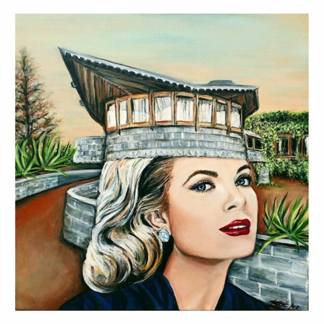 Grace Kelly american actor she is part of frankly speaking series an art series created by canadian visual artist Karen Robb