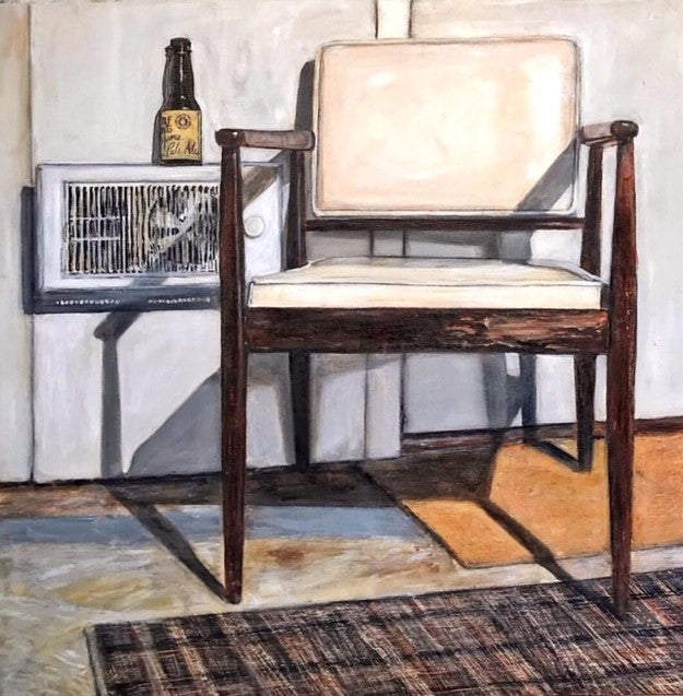 Canadia Visual Artist Karen Robb created an art series Chair series  available in prints best suited for Home decor and personalized gifts