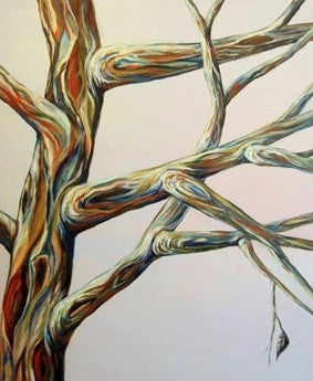 Artist Karen Robb created tree series .This piece is part of tree series and available for prints best suited for home decor and gifts