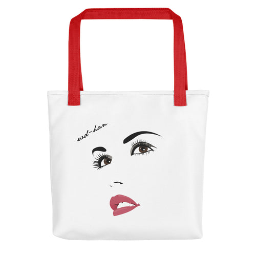 'Red Sun' Tote Bag