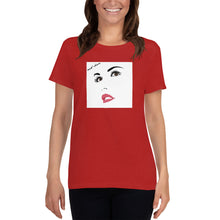 Load image into Gallery viewer, 'Red Sun' Women's Tee - Crew-Neck