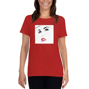 'Red Sun' Women's Tee - Crew-Neck