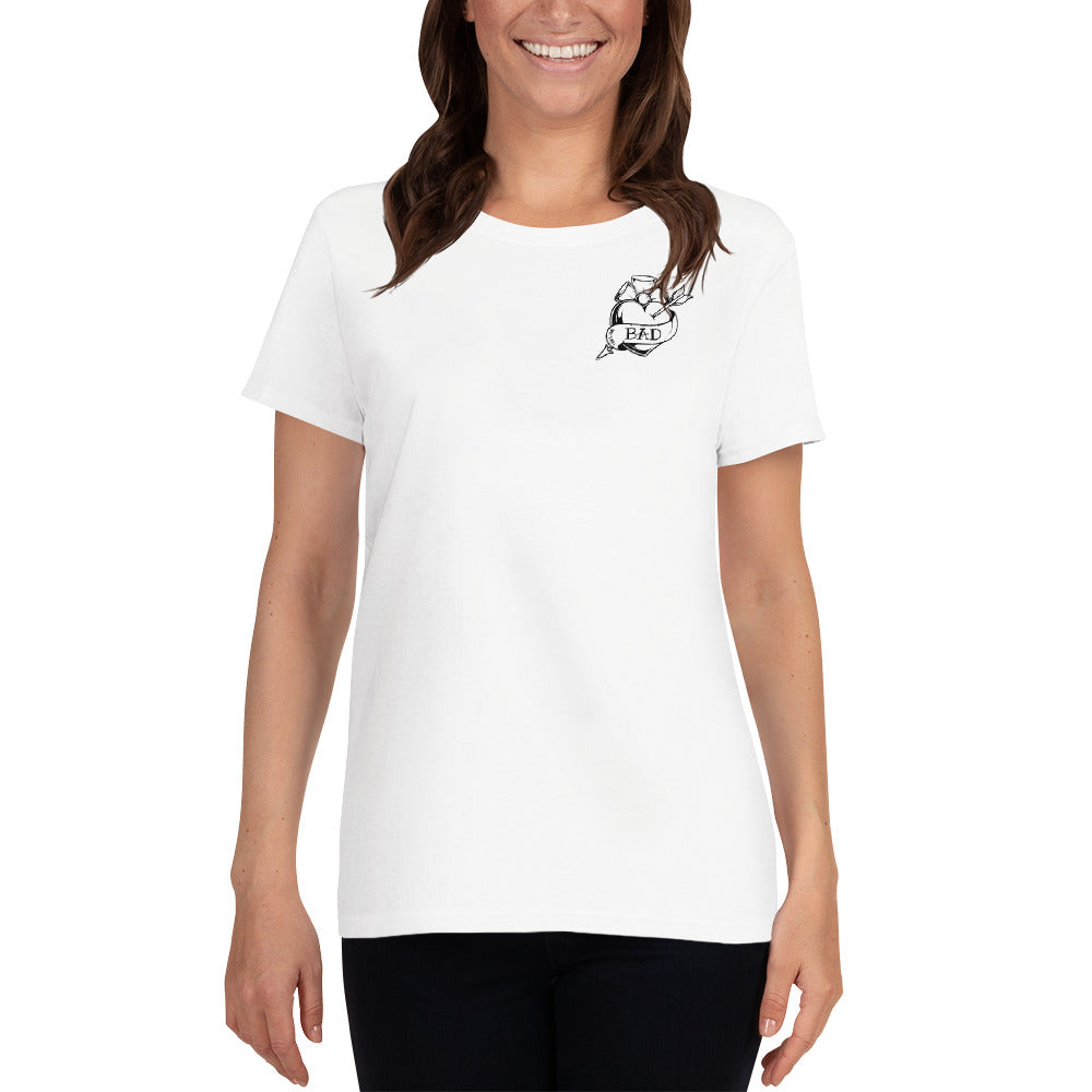 'BAD' Women's Tee - Crew-Neck