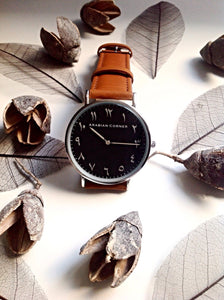 Montre Brown/black