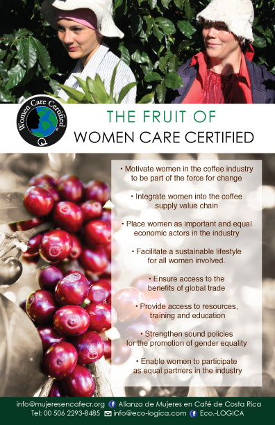 Costa Rica Cafe Con Amore - Honey Process- DIRECT TRADE - WOMEN'S COFFEE ALLIANCE - green sock
