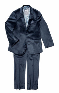 Appaman Blue Velvet 2-pc Suit
