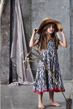 Load image into Gallery viewer, Ujala Grey Batik Lara Dress