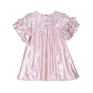 Velveteen Ginney Pink Silk Dress