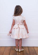 Load image into Gallery viewer, David Charles Pink Brocade Party Dress