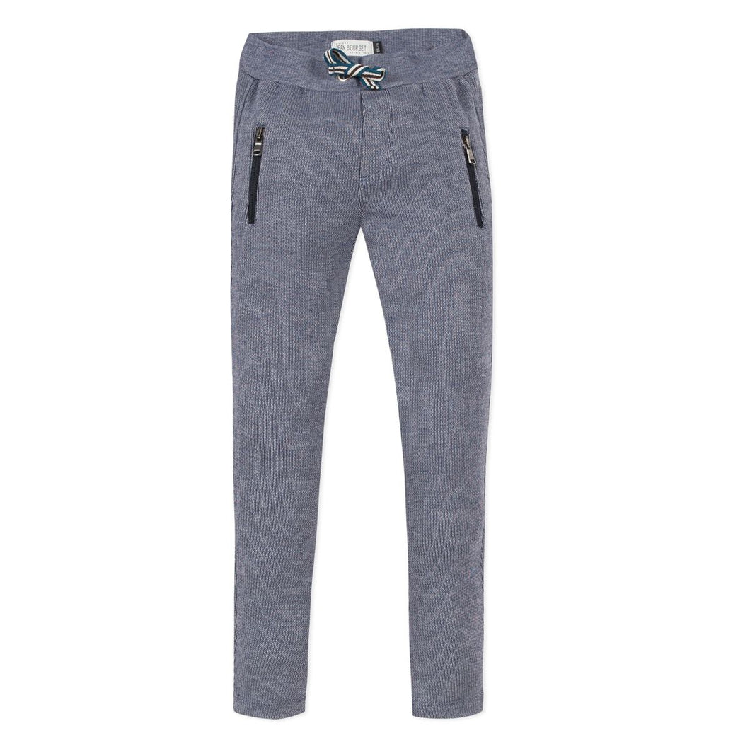 Jean Bourget Boys Jogger Trousers with Zippers