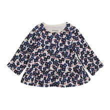 Load image into Gallery viewer, Jean Bourget Baby & Toddler Girls Floral Print Blouse
