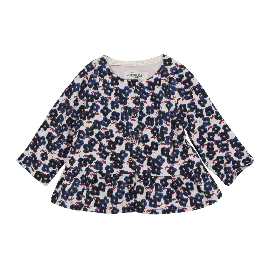 Jean Bourget Baby & Toddler Girls Floral Print Blouse