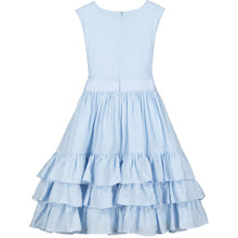 Load image into Gallery viewer, Holly Hastie Arabella Cotton Dobby Blue Dress