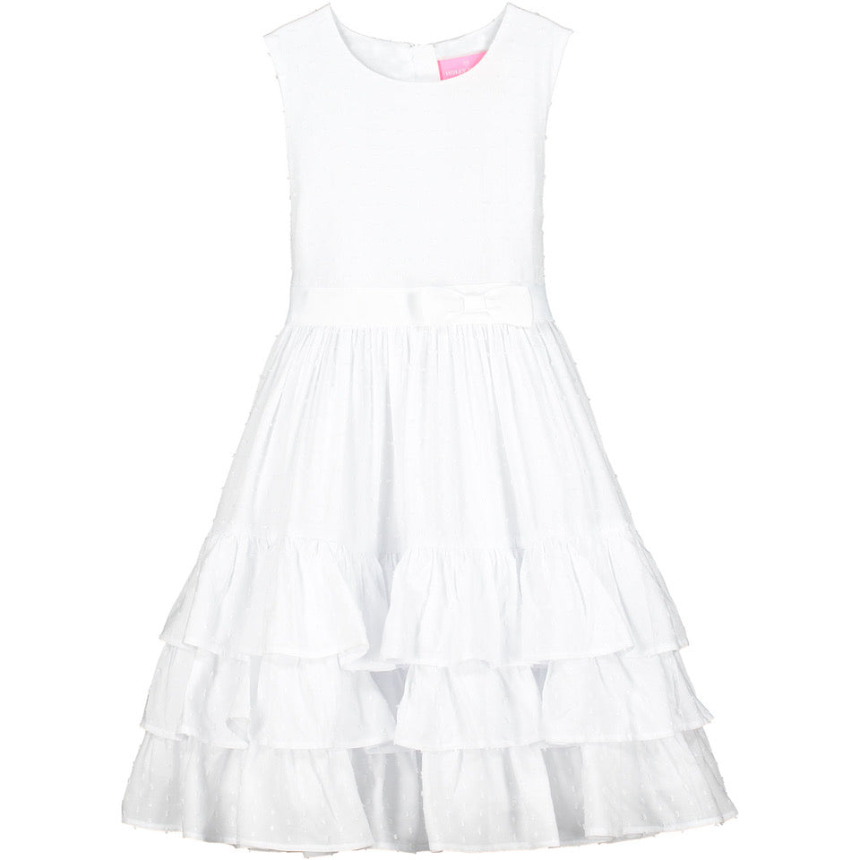 Holly Hastie Arabella White Cotton Dress