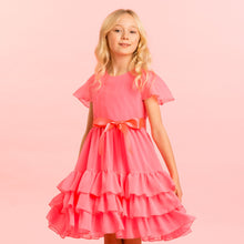 Load image into Gallery viewer, Holly Hastie Pink Candy Floss Party Dress