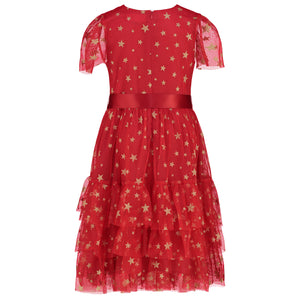 Holly Hastie Cinderella Red Star Dress