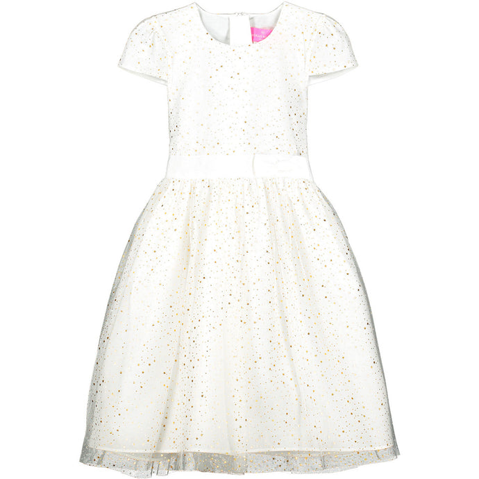 Holly Hastie Sienna Star Tulle White Dress