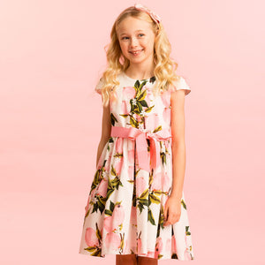 Holly Hastie Pink Fruit Party Dress