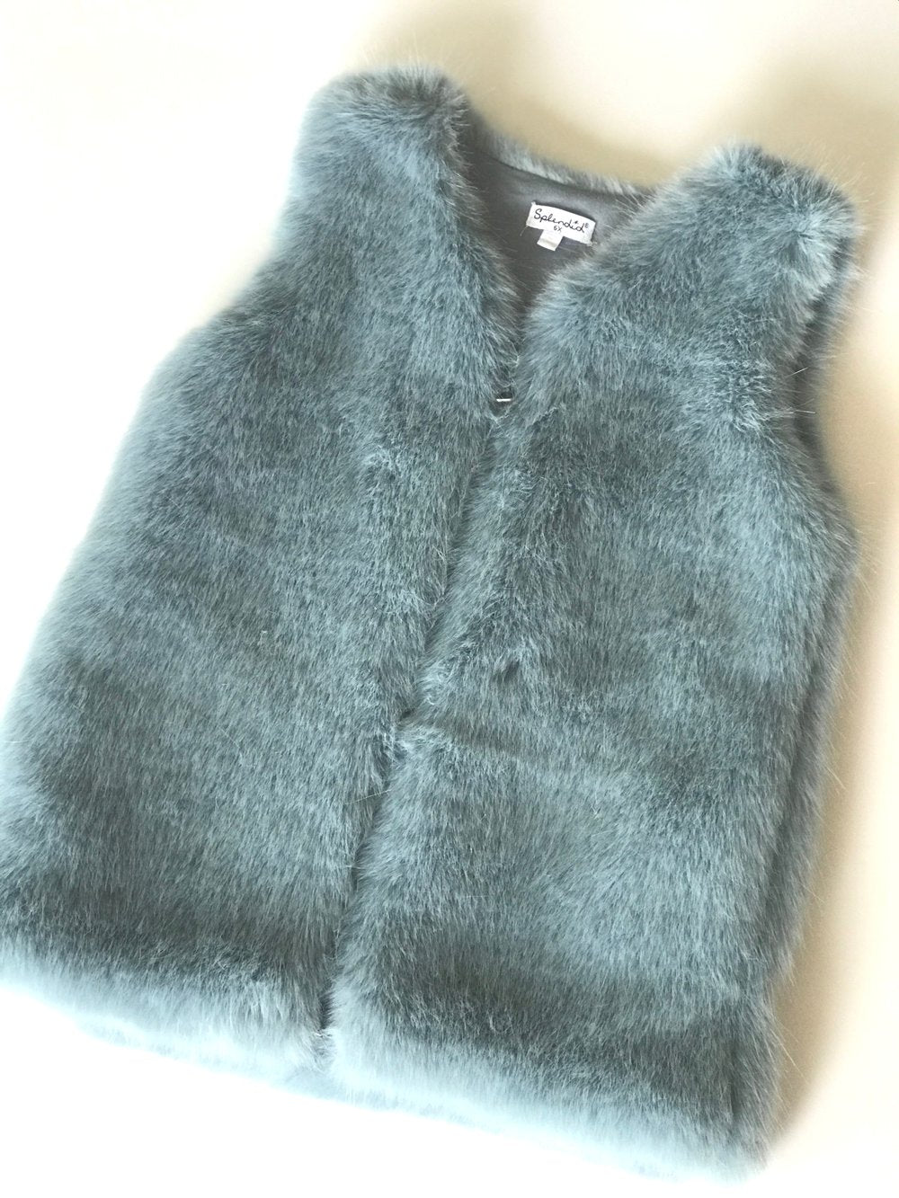 Splendid Faux Fur Vest