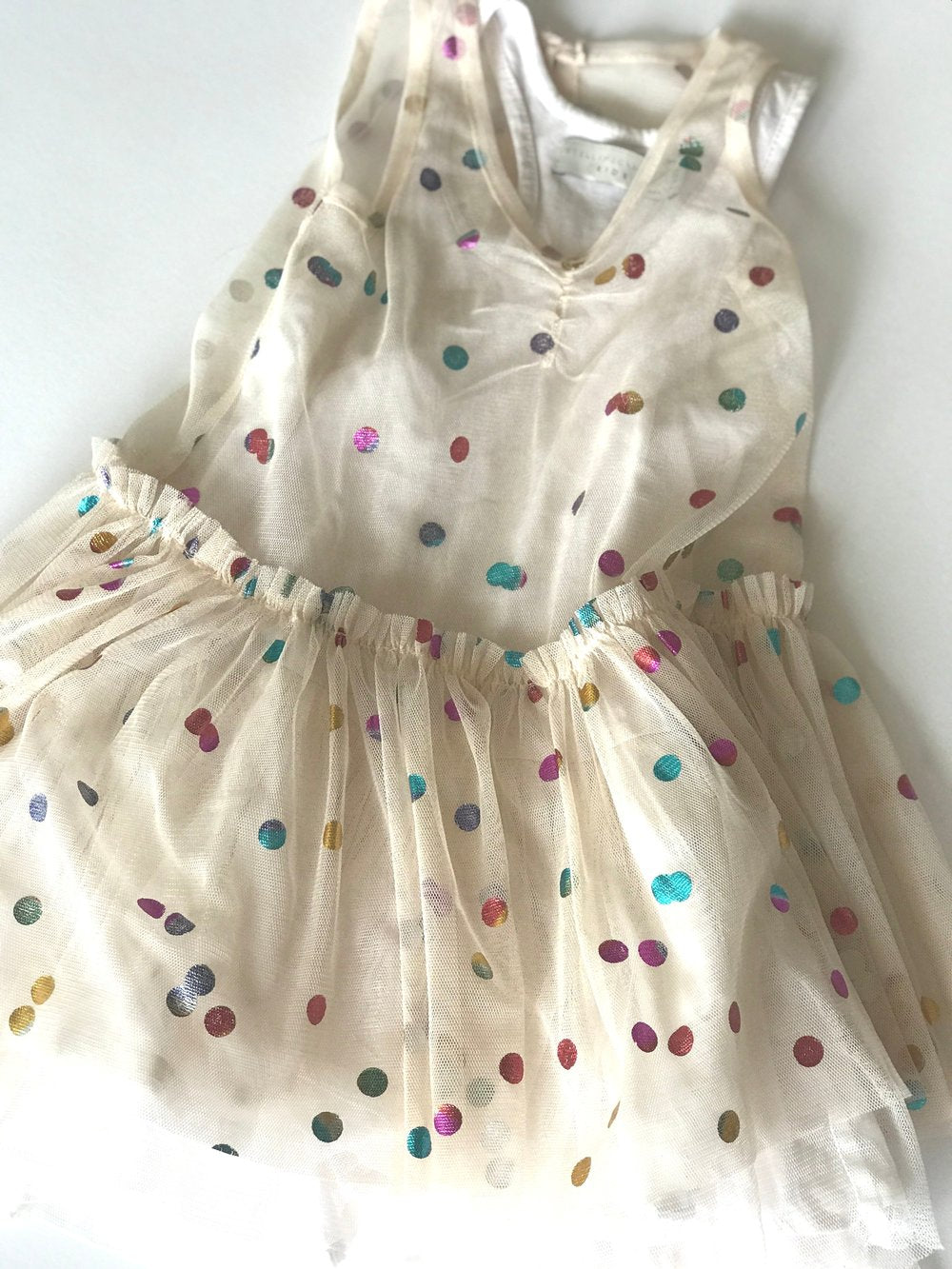 Stella McCartney Tulle Confetti Dress