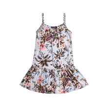 "Load image into Gallery viewer, Gift Cards IMOGA  ""JISELLE"" Girls Tropical Print Dress"