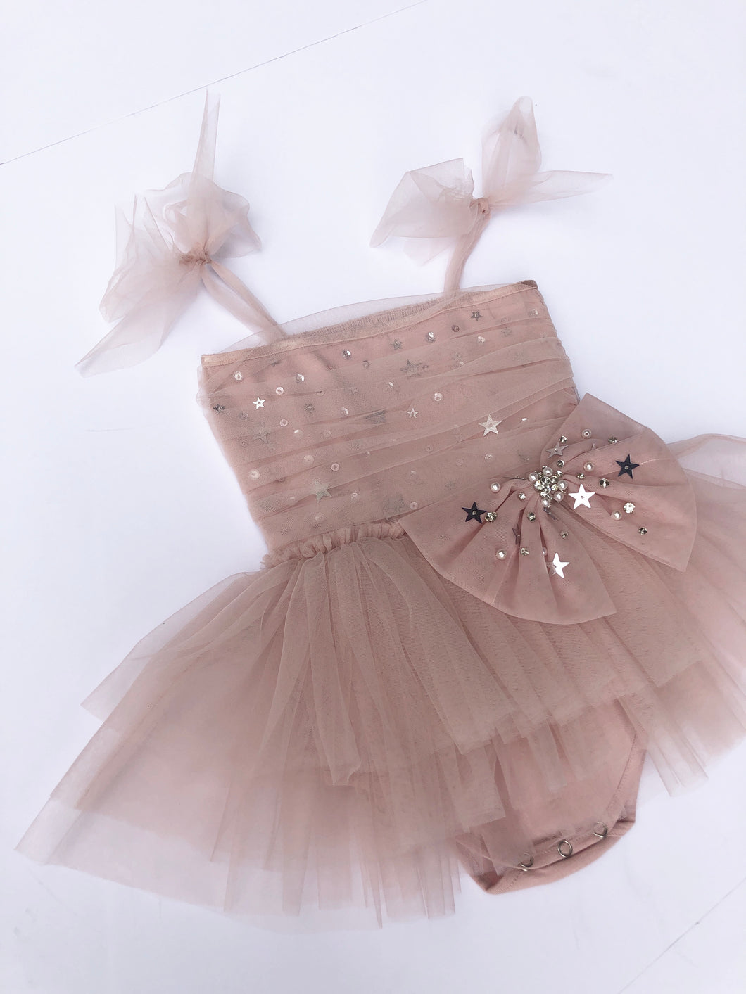 Marais Sky Stardust Bow Dress