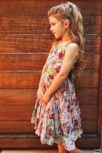 Ujala Design Delia Vintage Rose Dress