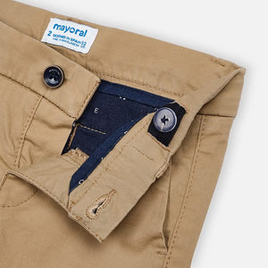 Mayoral Brown/Tan Chino Shorts