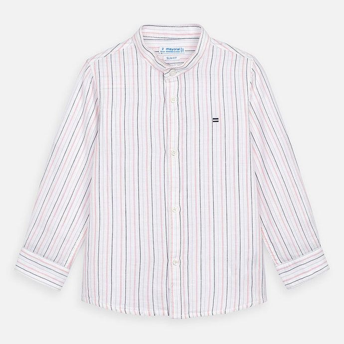 Mayoral Pink Linen Shirt