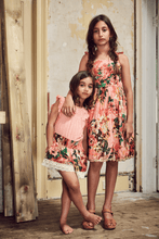 Load image into Gallery viewer, Ujala Design Alia Peach Floral Dress