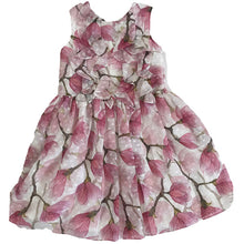 Load image into Gallery viewer, David Charles Ivory and Pink Peony Tea Dress