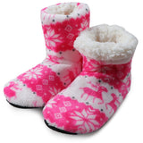 Winter Plush Slippers Warm Cotton Home Christmas Slippers