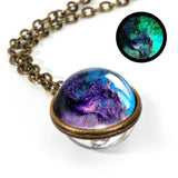 2019 New Nebula Galaxy Double Sided Pendant Necklace