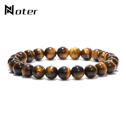 Noter Minimalist Natural Stone Beads Bracelet