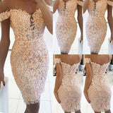 Mini Dress Off Shoulder Bandage Bodycon