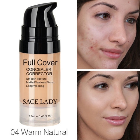 Face Concealer Cream Full Cover Makeup Contouring