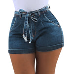 High Waist Hot Ladies Shorts
