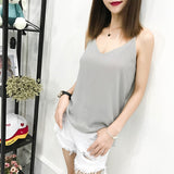 Fashion Chiffon Camis Streetwear Tops