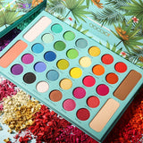 Professional 34 Color Shimmer Powder Eyeshadow Palette